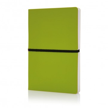 Deluxe softcover A5 notebook, greenP773.027