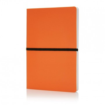 Deluxe softcover A5 notebook, orangeP773.028