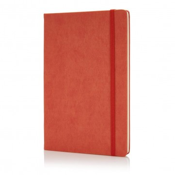 Deluxe hardcover PU A5 notebook, orangeP773.428