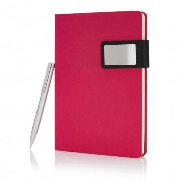 A5 Prestige notebook set, pinkP773.474
