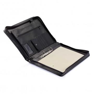 Essential zipper portfolio with binderP773.631