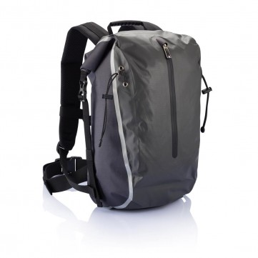 PVC free Swiss Peak waterproof backpack, greyP775.052