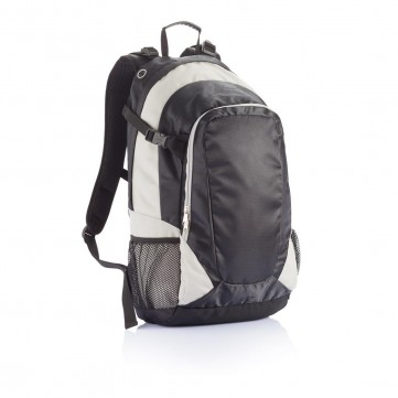 PVC free hiking backpack, greyP775.152