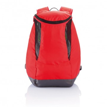 Backpack with sport shoe compartment, redP775.304