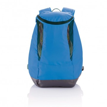 Backpack with sport shoe compartment blueP775.300