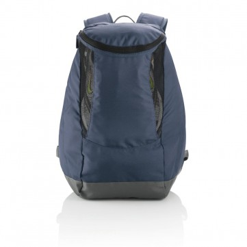 Backpack with sport shoe compartment, blueP775.305