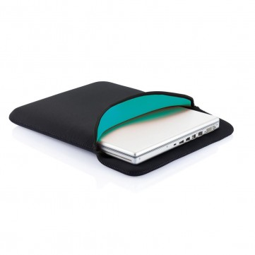 Reversible laptop sleeve, blackP788.301