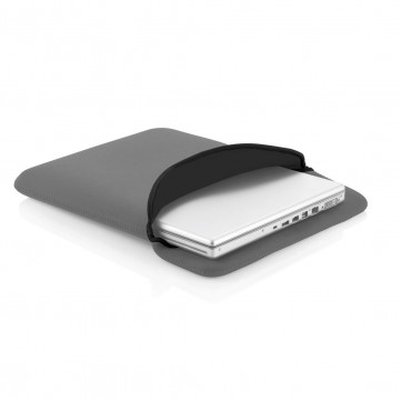 Reversible laptop sleeve grey/blackP788.312
