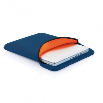 Reversible laptop sleeve blue/orangeP788.385