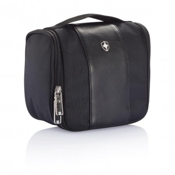 Swiss Peak toilet bag, blackP820.311