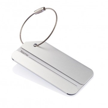 Alu luggage tag, silverP820.022