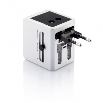 Travel plug with dual USB portP820.352