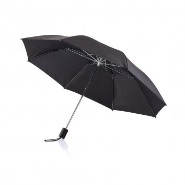 "Deluxe 20"" foldable umbrella, blackP850.261"