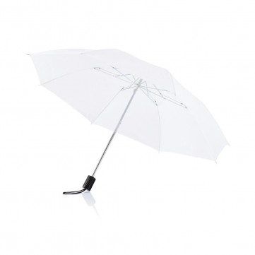 "Deluxe 20"" foldable umbrella, whiteP850.263"