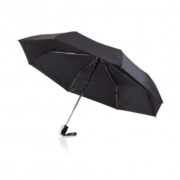 "Deluxe 21,5"" 2 in 1 auto open/close umbrella, blackP850.361"