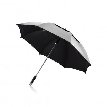 "27"" Hurricane storm umbrella, greyP850.502"