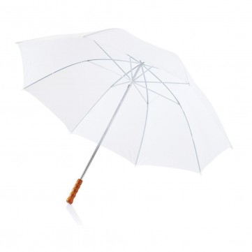 "Deluxe 30"" golf umbrella, whiteP850.003"