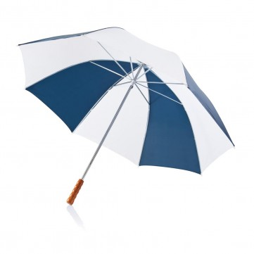 "Deluxe 30"" golf umbrella white/navy blueP850.025"