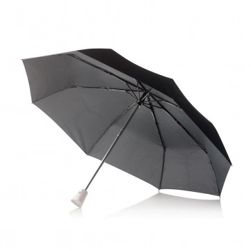 "21,5"" Brolly 2 in 1 auto open/close umbrella, whiteP850.110"