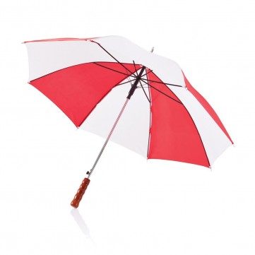 "Deluxe 23"" automatic umbrella white/redP850.224"