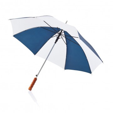 "Deluxe 23"" automatic umbrella white/navy blueP850.225"