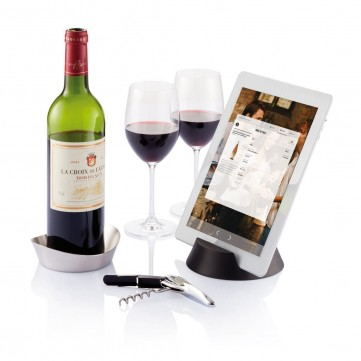 Airo Tech wine set, silverP911.602