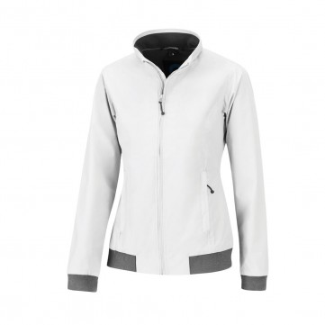 HAMBURG woman Jacket White XLT470.014
