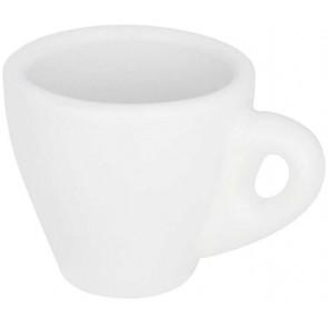 Perk white espresso mug