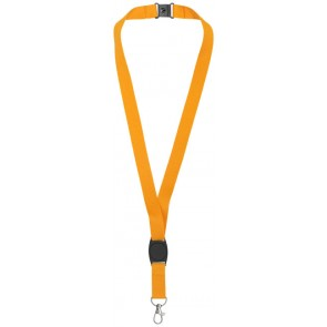 Gatto lanyard with break-away closure