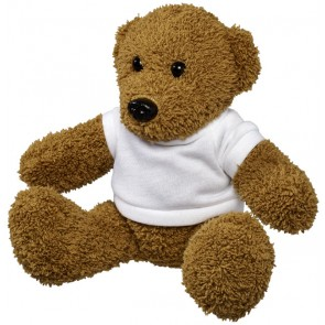 Todd plush rag teddy bear with shirt