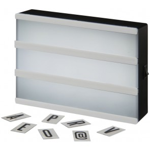 Cinema decorative light box