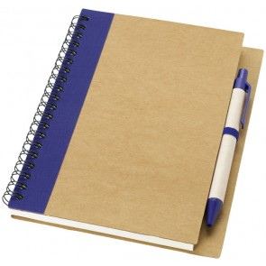 Priestly notebook and pen