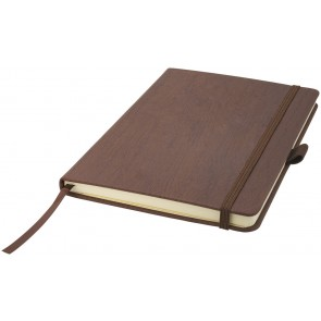 Wood-look A5 hard cover notebook