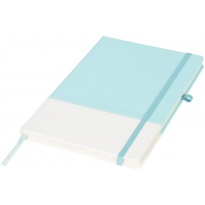 Two tone colour block A5 Notebook
