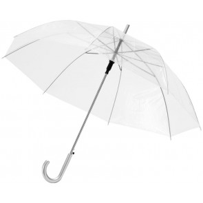 "23"" Transparent automatic umbrella"