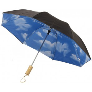 "Blue-skies 21"" foldable automatic umbrella"