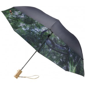 "23"" Forest skies 2-section automatic umbrella"