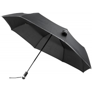 "Luminous 27"" LED fold. auto. open/close umbrella"