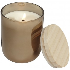 Lani candle with wooden lid