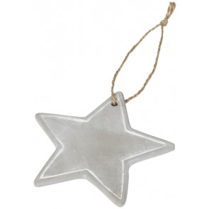 Seasonal star ornament
