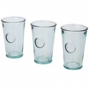 Copa 3-piece 300 ml recycled glass set