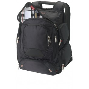 "Proton airport security friendly 17"" backpack"