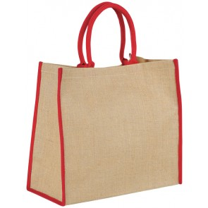 Harry large tote bag made from jute