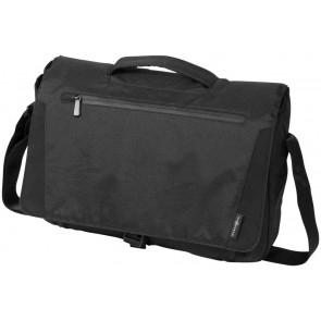 "Deluxe 15.6"" laptop messenger bag"