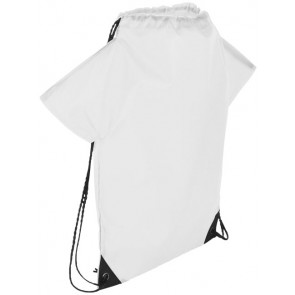 Cheer jersey-shaped drawstring backpack