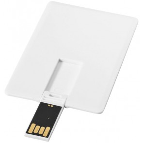 Slim card-shaped 4GB USB flash drive