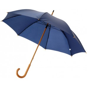 "Jova 23"" umbrella with wooden shaft and handle"