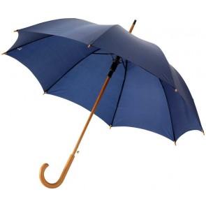 "Kyle 23"" auto open umbrella wooden shaft and handle"