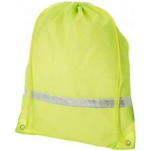 Premium reflective drawstring backpack
