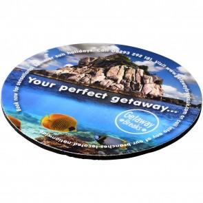 Q-Mat® round coaster